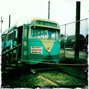 glen echo trolley
