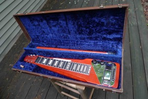 Rickenbacker Electro Lap Steel Electric with case and legs