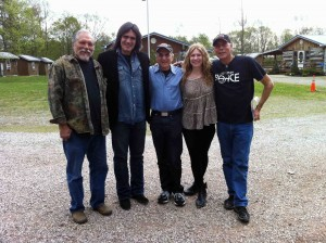 Me, Larry, Happy, Teresa and our very own John Hurlbut