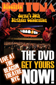 Electric Hot Tuna Live from the Beacon Theater 2010
