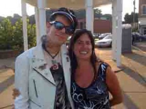 Nick Curran and Aunt Nessa