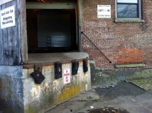 The death defying loading dock...