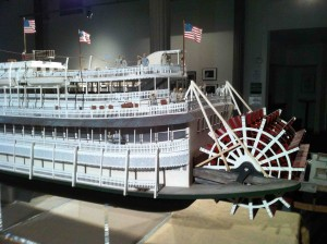 Riverboats in the lobby