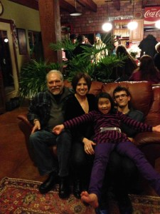 Happy New Year from Jorma, Vanessa, Izze and Zach!