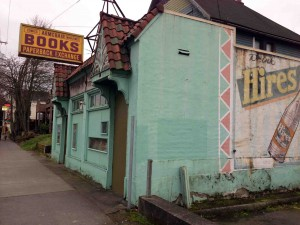 Old School Behind The Alladin In Portland