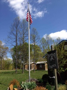 Old Glory at the Ranch