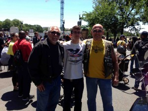 Son Jorma, Grandson Zach and brother Jerry B.