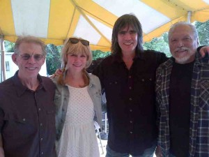 Jack, Teresa Williams, Larry Cambell and Me