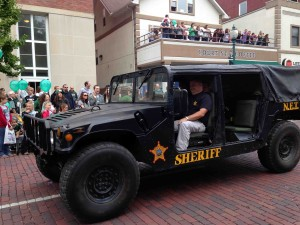 The Sherrif's very own Humvee