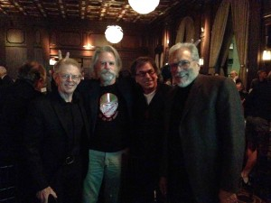 Jack, Bob Weir, Mickey Hart and Jorma
