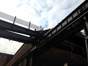 The gantries and catwalks live in their own memories