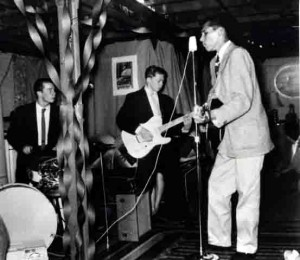 1958 Warren Smith on drums, Jack Casady on guitar, and me guitar and vocals