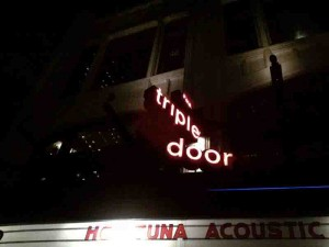 Finally... the Triple Door