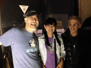 Jack with the great folks whose child Freaky Show is