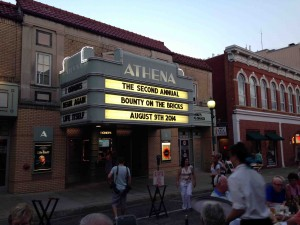 The old Athena on Court Street spreads the news