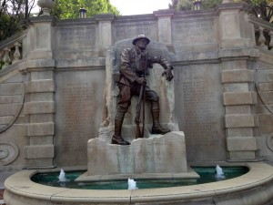 WW I monument...  Lynchburg