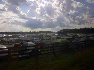 The afternoon of the 6th... Lockn'