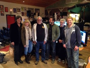 Larry, Teresa, Jorma, Justin, Barry and Myron