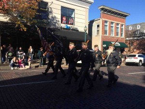 Small town America celebrates Veteran's Day