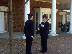 Changing of the Guard at OU.