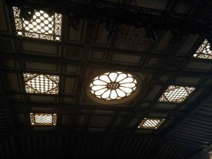 More ceilings