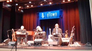 Jorma, Teresa & Larry at the eTown gig Saturday...