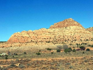 On the way from Phoenix to Salt Lake City