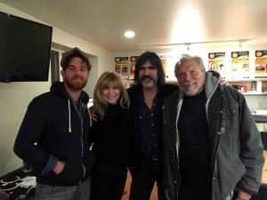 Joe, Teresa, Larry and Jorma after the sold out show...