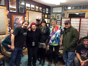 Nessa with the guys of NRPS!