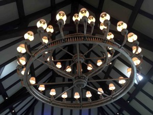 Nothing like a cool chandelier