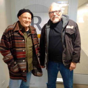 Ron and me at Rivet Radio...