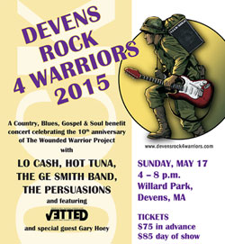 Devens Rock 4 Warriors 2015