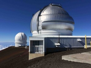 The Mauna Kea observatory... one of them.