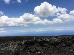 Past the tubes... down the slope... past the lava see the ocean