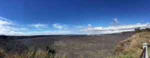 Panorama at Kilauea