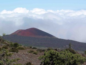 Red mountain from Mauna Kea