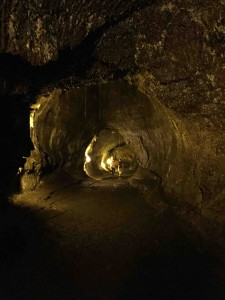 Above ground isn't cool enough? Try the lava tubes!