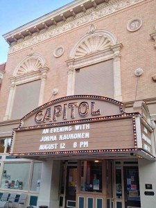 The Marquee at the Capitol...