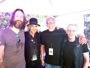 Chris, Pete Sears, Jorma ane Jack Casady