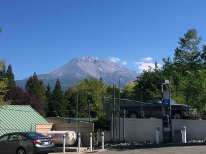 A parched Mt. Shasta