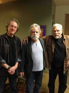 Rob Wasserman, Bob Weir and Jorma