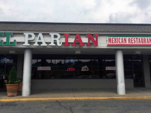 The El Parian Mexican Resaurant in Zanesville