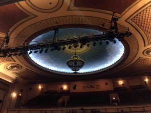 I love the ceilings in these old theaters...