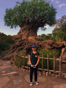 The tree of life had a whole Avatar vibe going for it. Here's the kiddo...