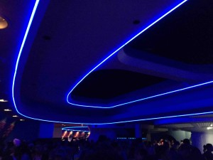 After Space Mountain... kind of blue