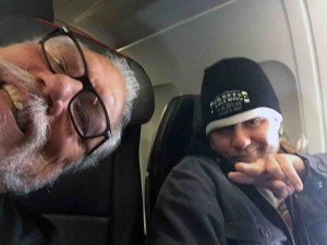 Jorma and Myron... exit row!
