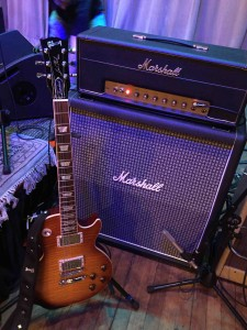 Les Paul and 50w Marshall