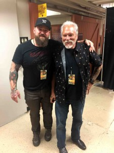 Backstage with Zac Brown