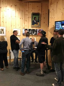 Jorma chats in the Psylodelic gallery...
