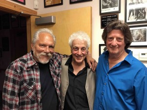 Jorma, Doug and Chris backstage...